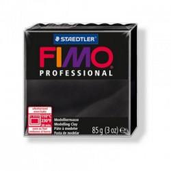 Fimo Nero Professional 85 gr Black n 9