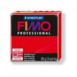 Fimo Rosso Puro Professional 85 gr True Red n 200