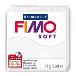 Fimo Bianco Soft da 57 gr White numero 0