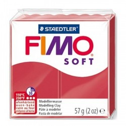 Fimo Rosso Ciliegia Soft da 57 gr Cherry Red...