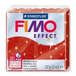Fimo Rosso glitterato da 57 gr Glitter colour...