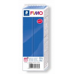 Fimo Blu Soft 454 gr Brilliant Blue numero 33