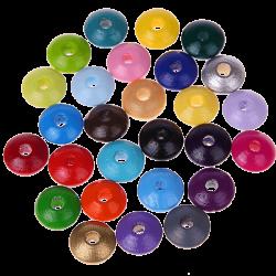 50 Distanziatori piatti 10/5 mm vari colori